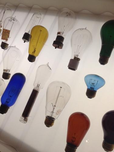 Early lightbulbs