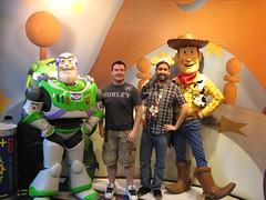 Buzz, Woody, Chris, & John