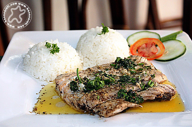 Grilled Tanigue at Bistro Coron