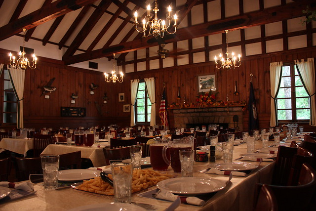 You can rent this facility year-round to host your special events at Douthat State Park
