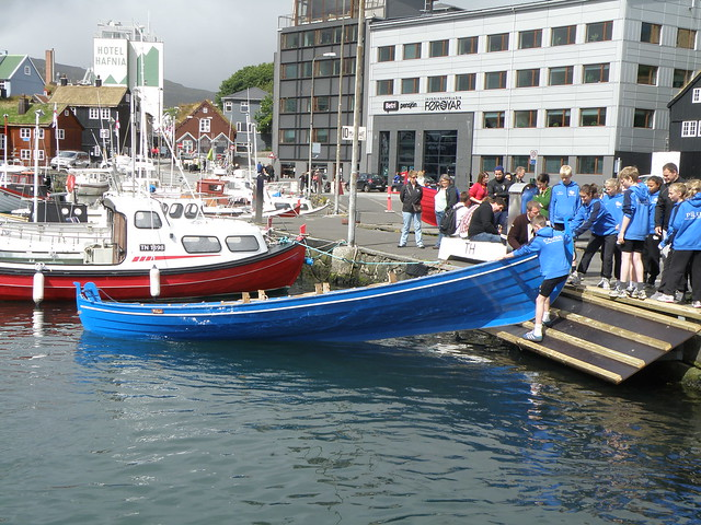 Pílur, One of Knørrur Boat Club's Boats, Children's Boat Race