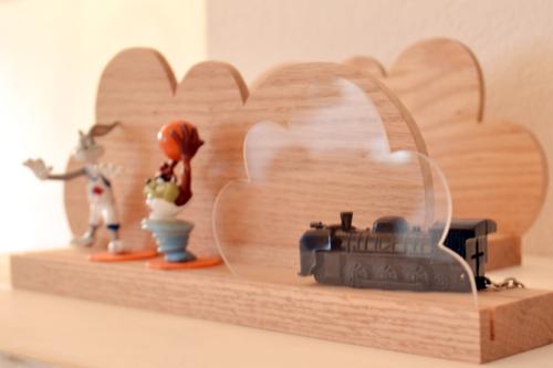 Handmade Cloud shelf