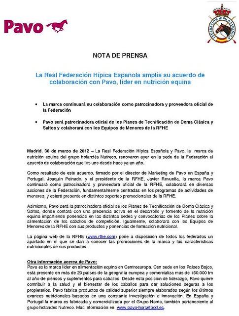 NP Acuerdo Pavo_30.03.12