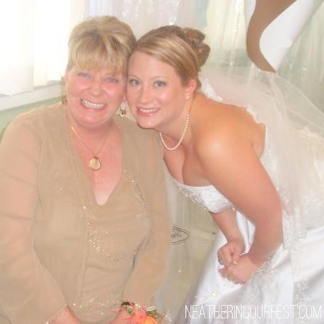mom and skye wedding