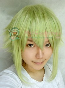 Light Green Vocaloid Gumi Megpoid Cosplay Wig