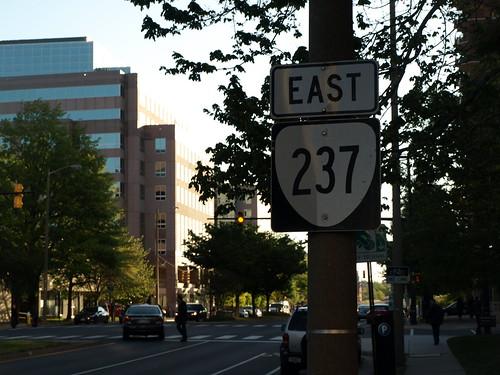 VA 237 sign