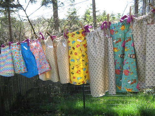 10 dresses April