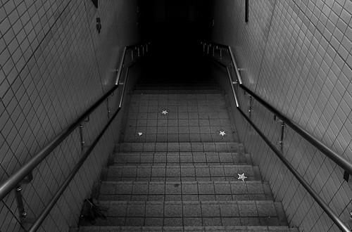 泉町横断地下通路