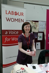 lainey hughes at party conference