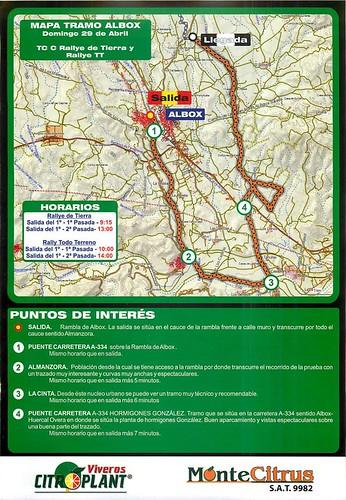Tramo cronometrado C Baja Almanzora 2012