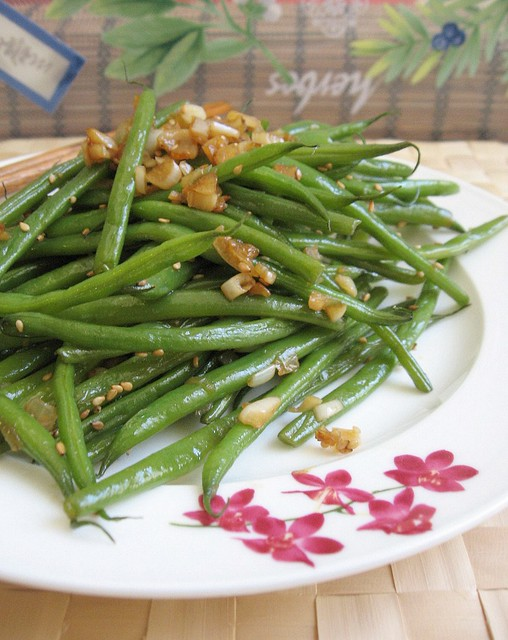 Garlic Haricot Verts