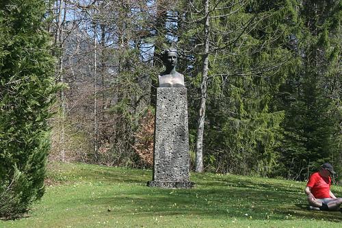 Ludwig II Büste - Schloß Linderhof