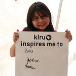 KLRU inspires me to... read Arthur.