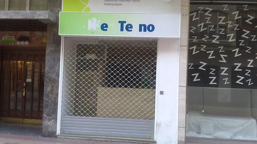 Calvo Sotelo local cerrado