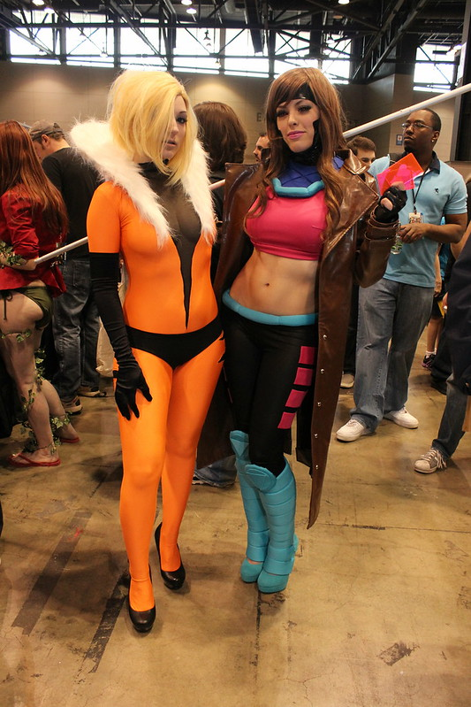 Sabretooth and Gambit