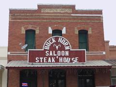 Buck Horn Saloon in D'Hanis, Texas