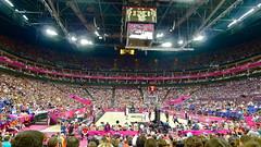 USA v Argentina, men's Olympic basketball semi final, London 2012