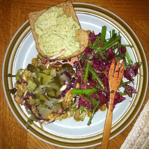 Vegan (organic) Dinner