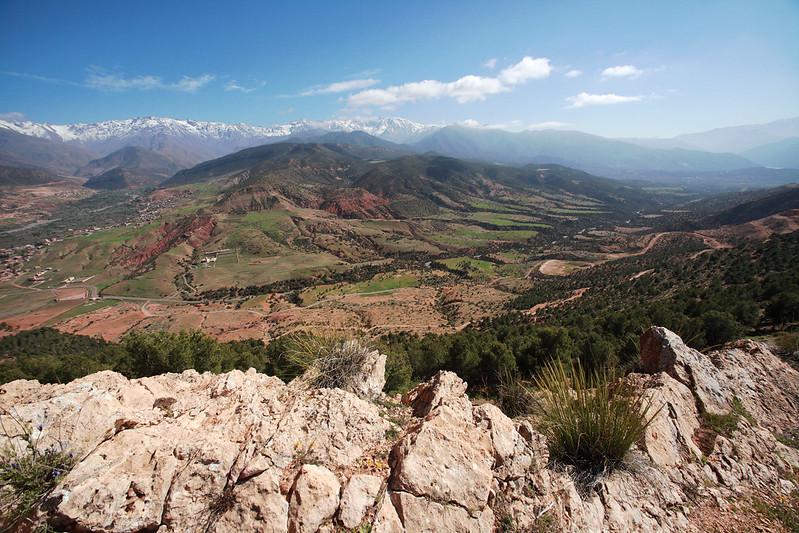 High Atlas, Toubkal massif