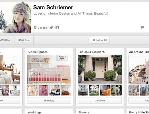 Sam Schriemer, AphroChic Design Intern