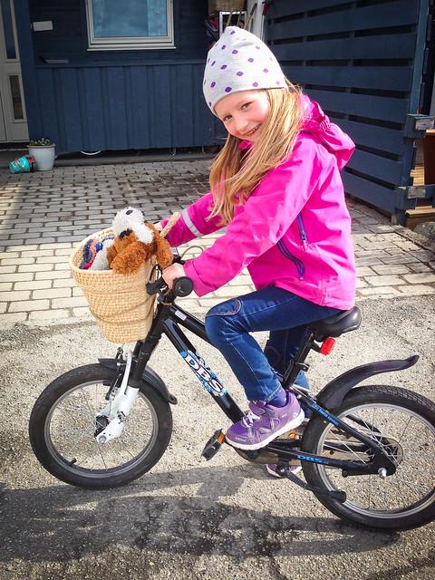 Sykler med Theo