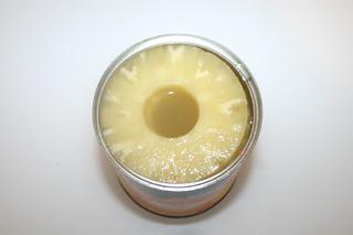 03 - Zutat Ananas / Ingredient pineapple