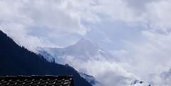 Szczyt Eiger (3970m) z Interlaken