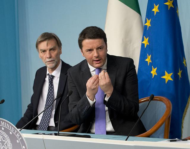 Renzi: non mi faro' dettare l'agenda da UE, BCE e FMI