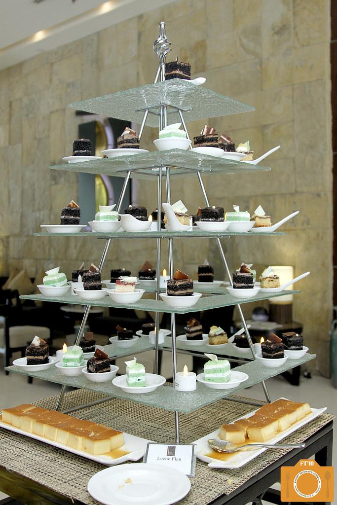 B Hotel desserts