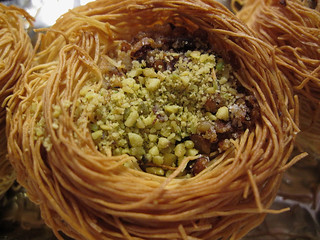 Bird Nest Baklava For Easter