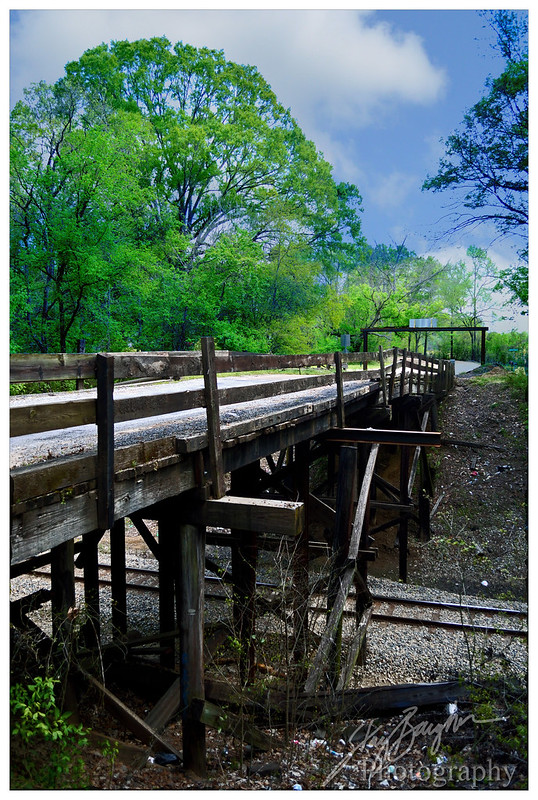 Bridge over Railroad in Anding Mississippi