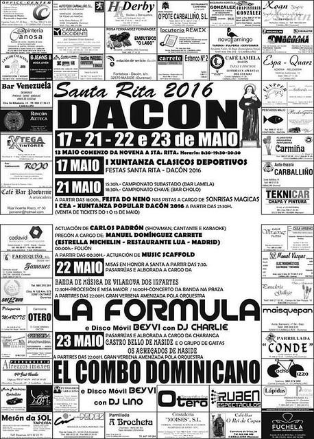 Maside 2016 - Festas de Santa Rita en Dacón