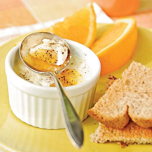 6. Simple Baked Eggs