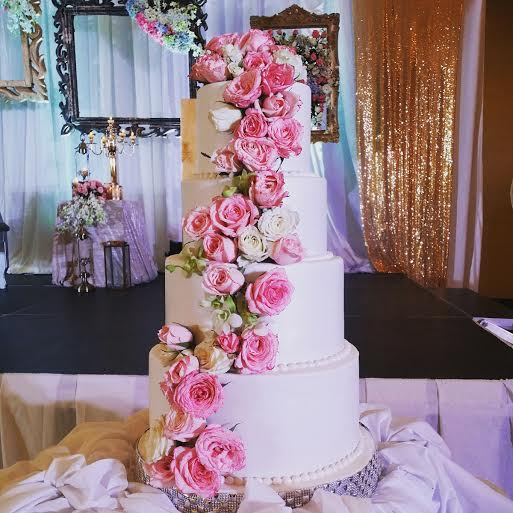 Beautiful Cake by Grace Frando Eugenio of Cake Me Away by Grace