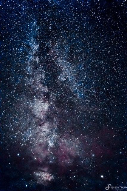 Milky Way (Baleartic Islands)