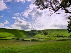 Fields in the Peak District