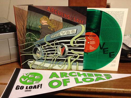 Archers Of Loaf - Vee Vee LP - Green Vinyl w/ Pennant by Tim PopKid
