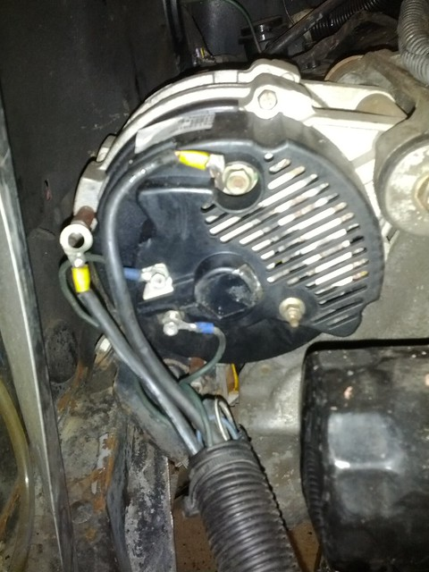 Hook up alternator