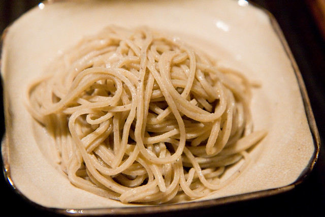 House-made soba, Kajitsu