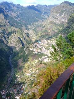 Hochgebirge Madeiras ist sehr nahe am Nonnental