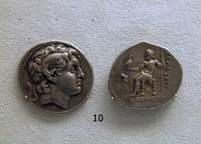 Lysimachus, Tetradrachme with Alexander the Great, 301-282 BC, Pergamon: Panorama of the Ancient City Exhibition, Pergamon Museum, Berlin