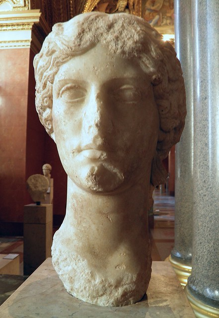 Agrippina the Elder (c.15 BC–AD 33), portrait made between AD 37 and 41 during the reign of Caligula, from Athens, Louvre Museum