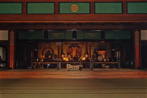 Altar del Tochō-ji