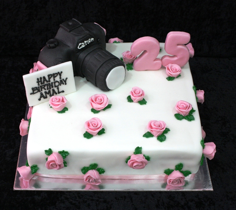Canon Camera Cake 4 Flickr Photo Sharing