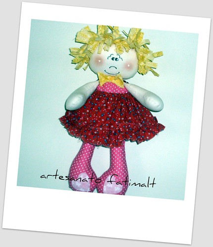 boneca de pano by fatimalt
