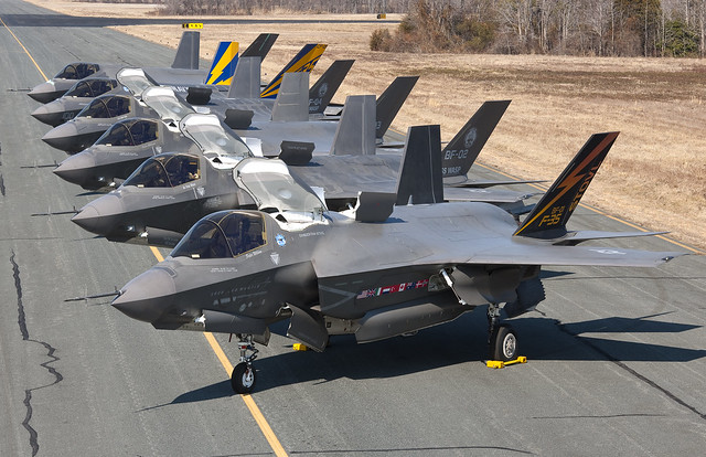 F-35s at NAS Patuxent River