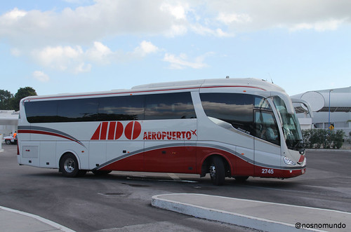 Do aeroporto de Cancun até Playa del Carmen