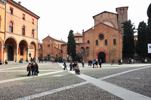 DSC_6930 Bologna  (Italy) 4 marzo 2012, Piazza Santo Stefano