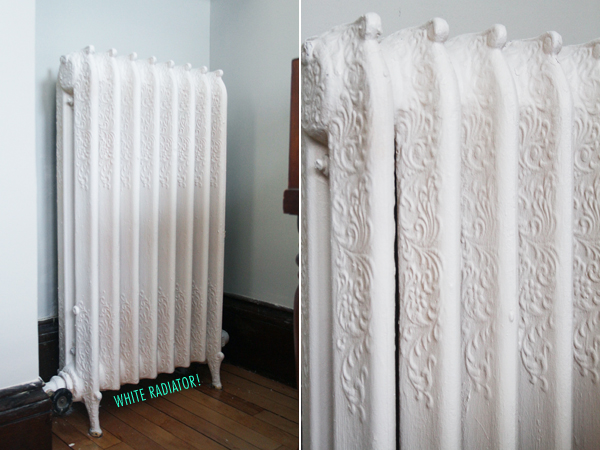 White Painted Radiator