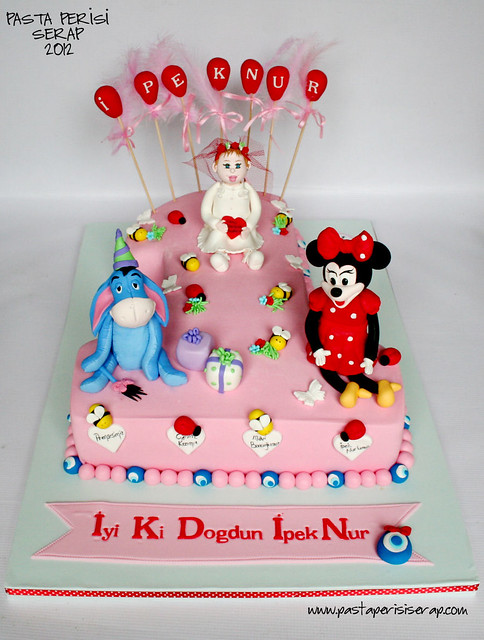 1ST BIRTHDAY CAKE-İPEKNUR